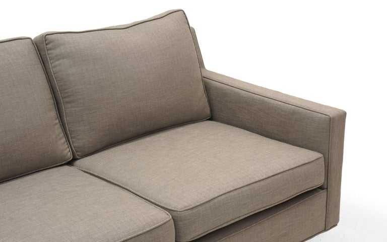 Three-Seat Sofa by Edward Wormley for Dunbar, Fully Restored, Like New In Excellent Condition For Sale In Kansas City, MO