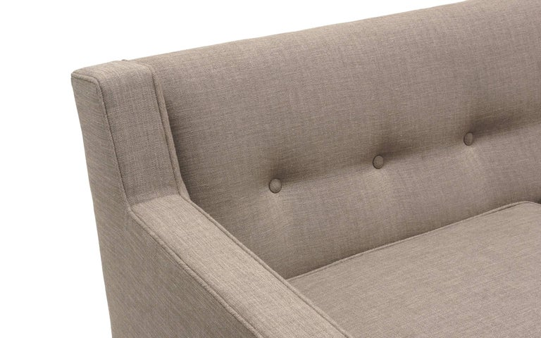 Mid-20th Century Three-Seat Sofa by Edward Wormley for Dunbar, Fully Restored, Like New For Sale