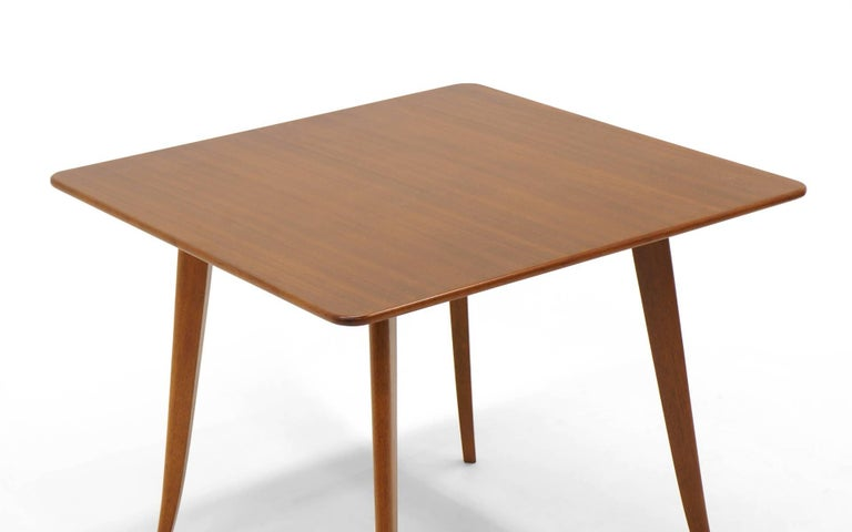 Mid-Century Modern Dining / Kitchen / Card Table by Edward Wormley for Dunbar. Excellent. For Sale
