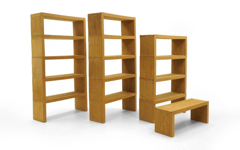 Frank Gehry Easy Edges Bookshelvesbookcases 15 Pieces Not A Reissue - Cardboard-bookshelves