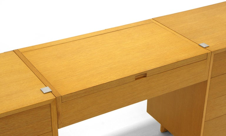 Vanity with Two Four-Drawer Chests by George Nelson for Herman Miller In Excellent Condition For Sale In Kansas City, MO