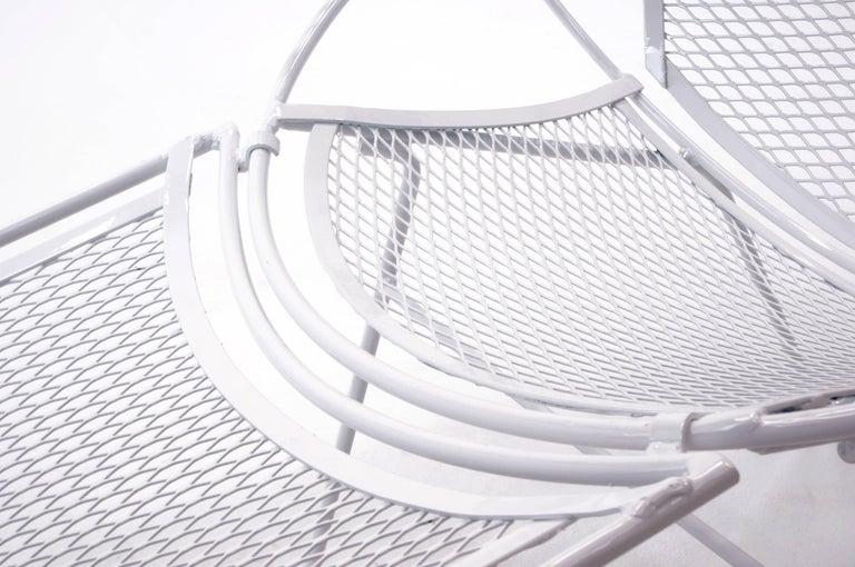 Mid-20th Century Rare Hairpin Leg Salterini Patio Lounge Chair/Chaise For Sale