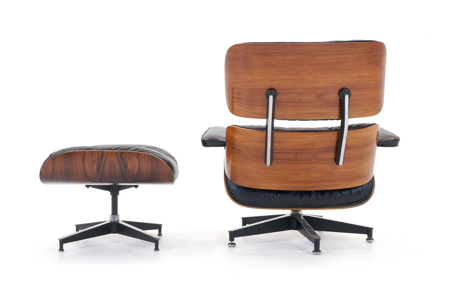 outstanding all original eames rosewood lounge chair and