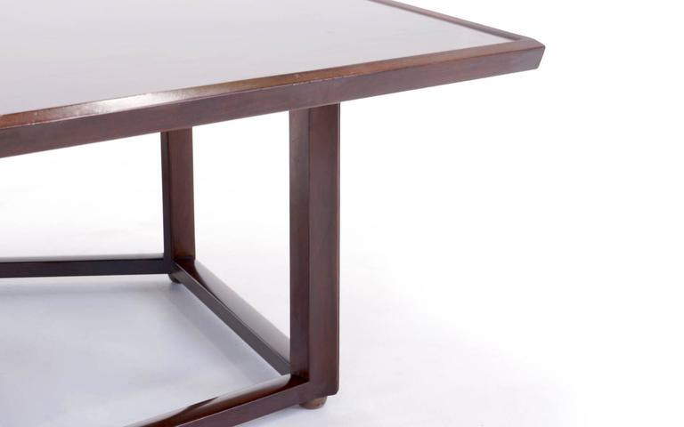 American Edward Wormley for Dunbar Pentagonal Coffee Table For Sale