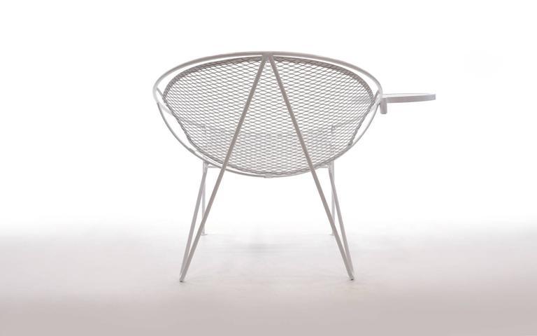 Rare Hairpin Leg Salterini Patio Lounge Chair Chaise