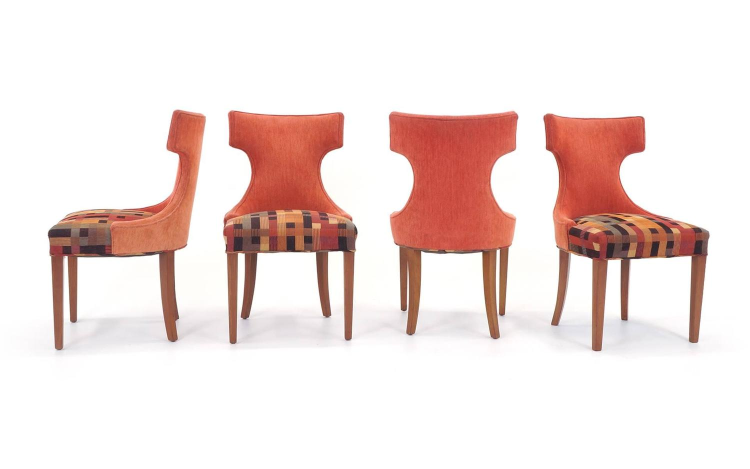 set of eight dining chairs by baker at 1stdibs