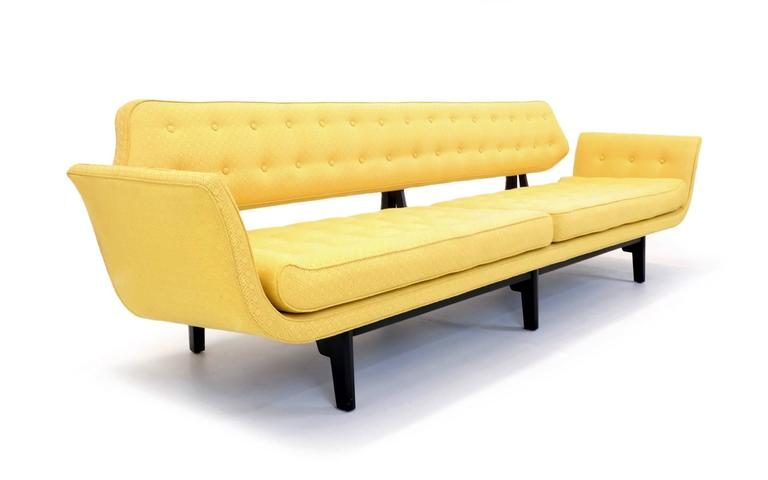 Mid-Century Modern La Gondola Sofa Designed by Edward Wormley for Dunbar, 1957 For Sale