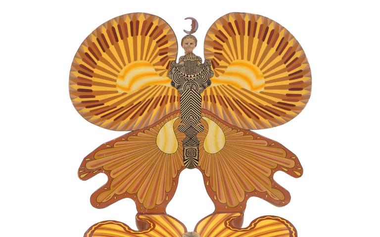 Pedro Friedeberg Butterfly Chair In Good Condition For Sale In Kansas City, MO