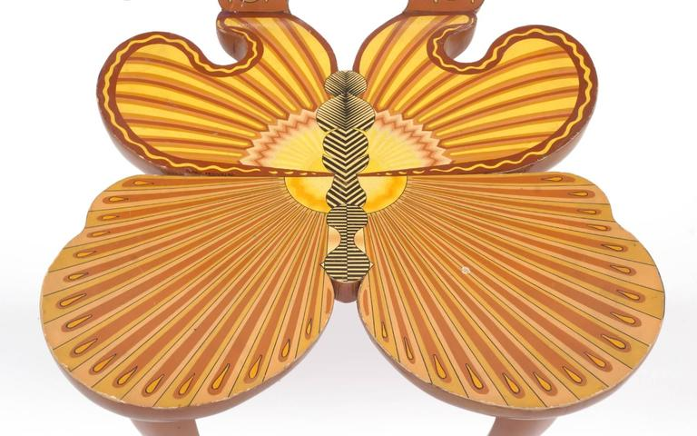 Wood Pedro Friedeberg Butterfly Chair For Sale