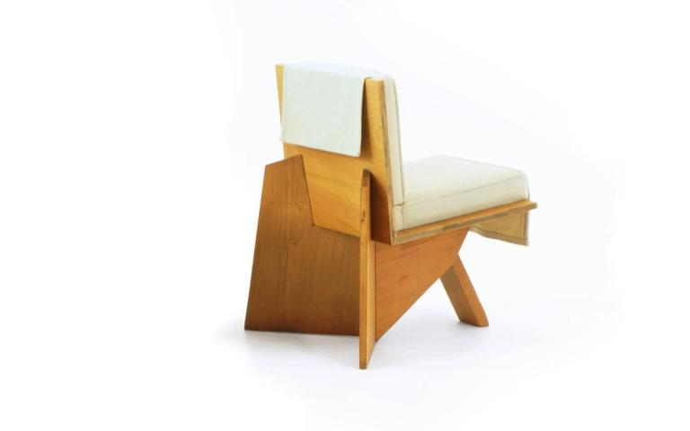 Organic Modern Frank Lloyd Wright Chair From The Sondern House Kansas City Mo