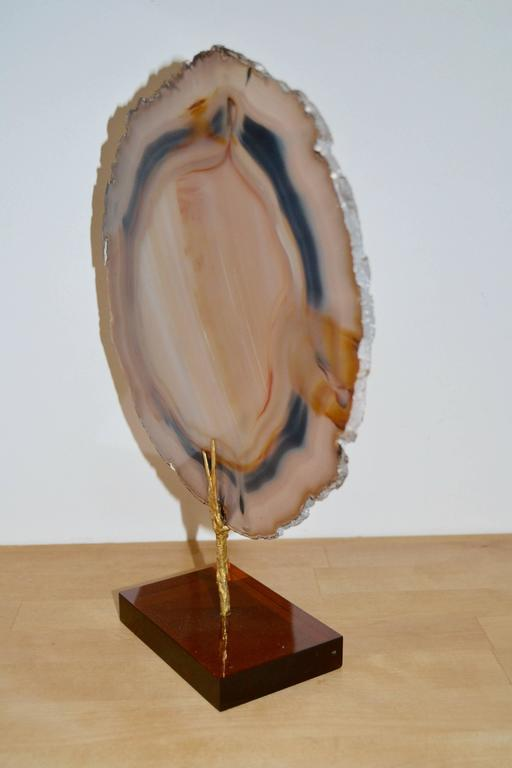 1970s Agate Slice For Sale 3