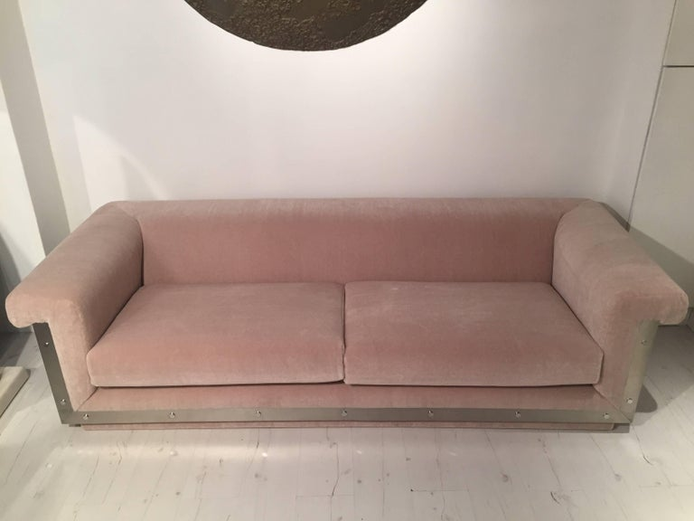 Pair of 1970s Sofas by Maison Jansen For Sale 2