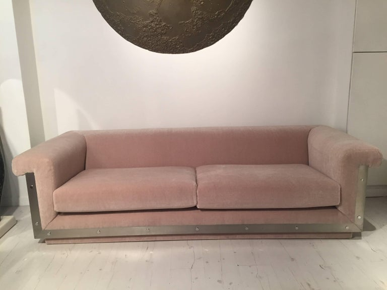 Pair of 1970s Sofas by Maison Jansen In Excellent Condition For Sale In Saint-Ouen, FR