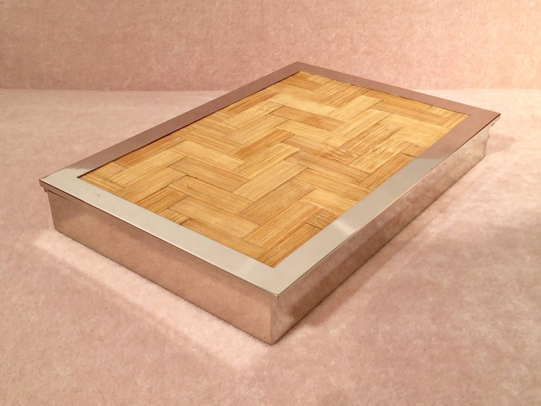 Mid-Century Modern Tomasso Barbi Box For Sale