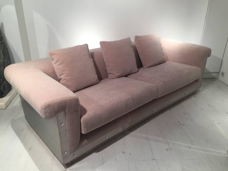 French Pair of 1970s Sofas by Maison Jansen For Sale