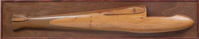 French Two Half Model Gliders, circa 1950 For Sale