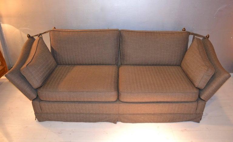 Maison Jansen Sofa In Excellent Condition For Sale In Saint-Ouen, FR