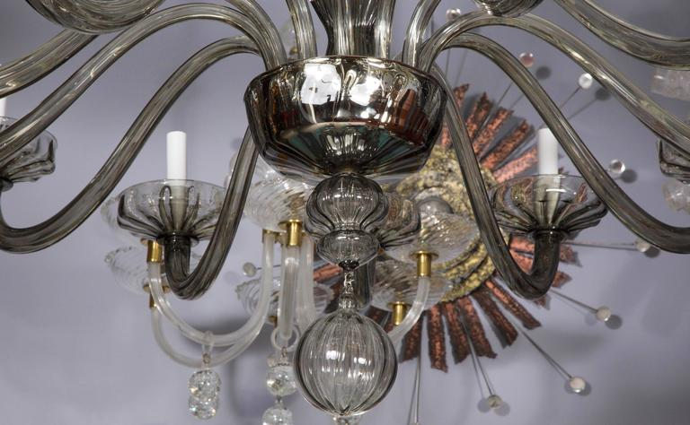 Murano Glass Chandelier For Sale 3