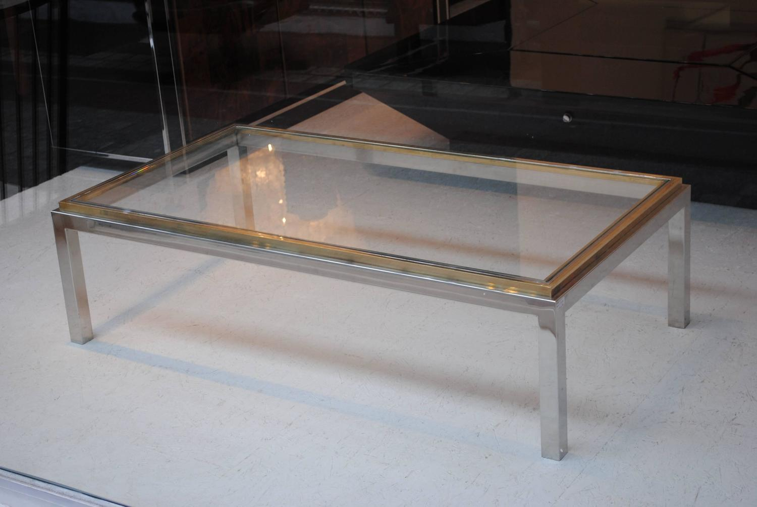 39 flaminia 39 coffee table by willy rizzo for sale at 1stdibs for Table willy rizzo