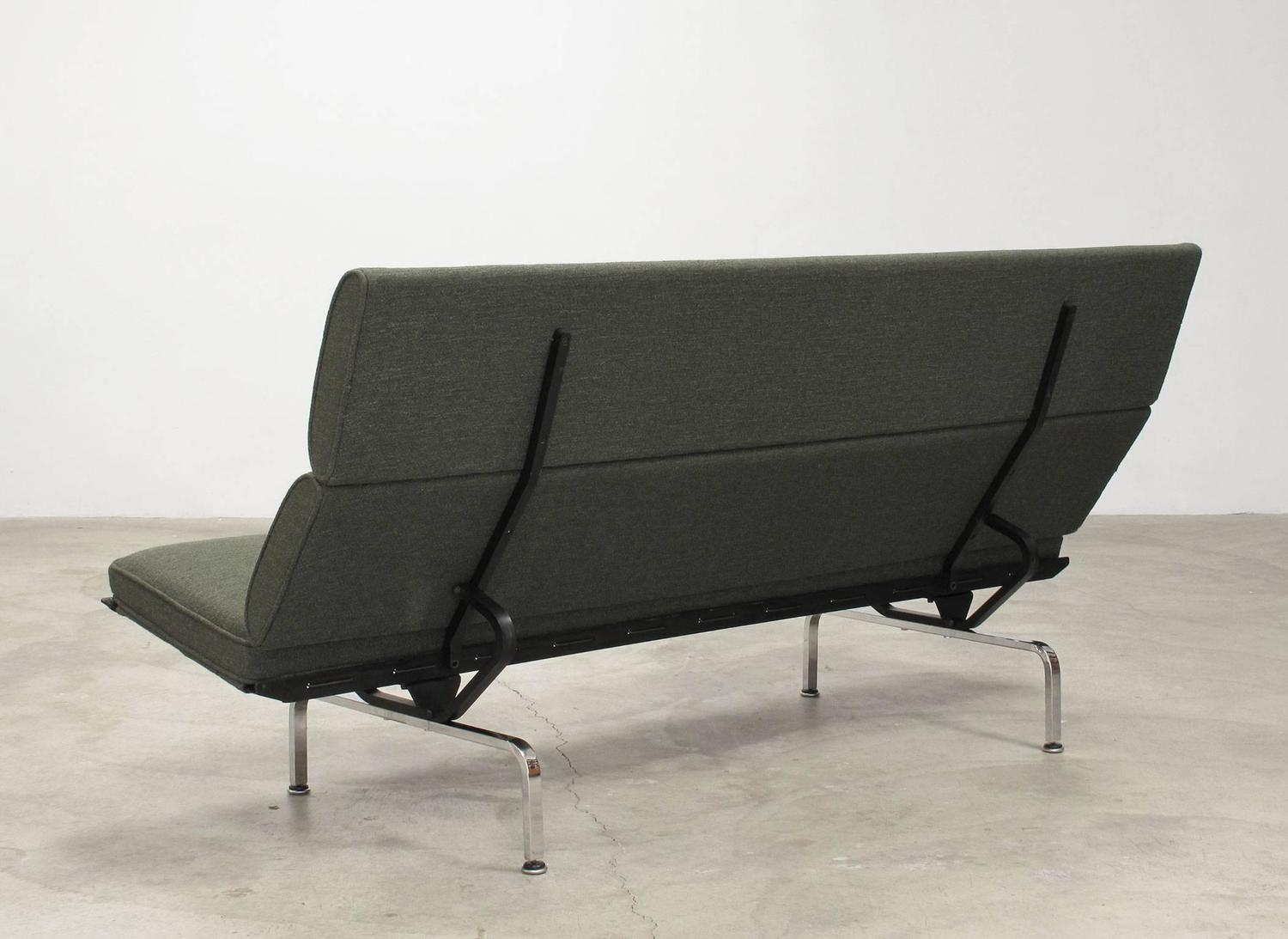 Great Charles And Ray Eames U0027Sofa Compact,u0027 1960s For Sale At 1stdibs