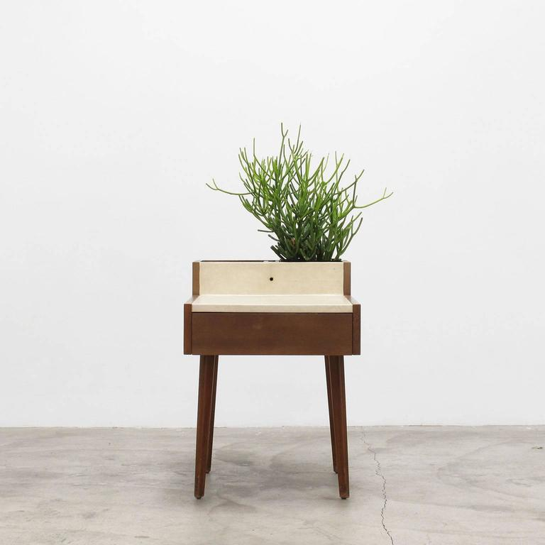 george nelson planter table 1950s at 1stdibs