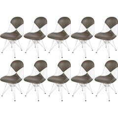 Set of Ten Eames DKR Chairs for Herman Miller