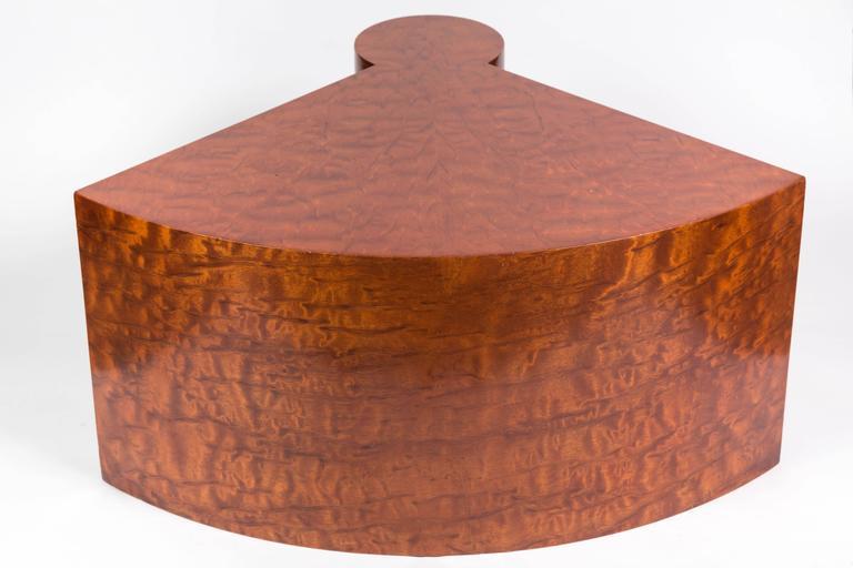 French Rare Burl Wood