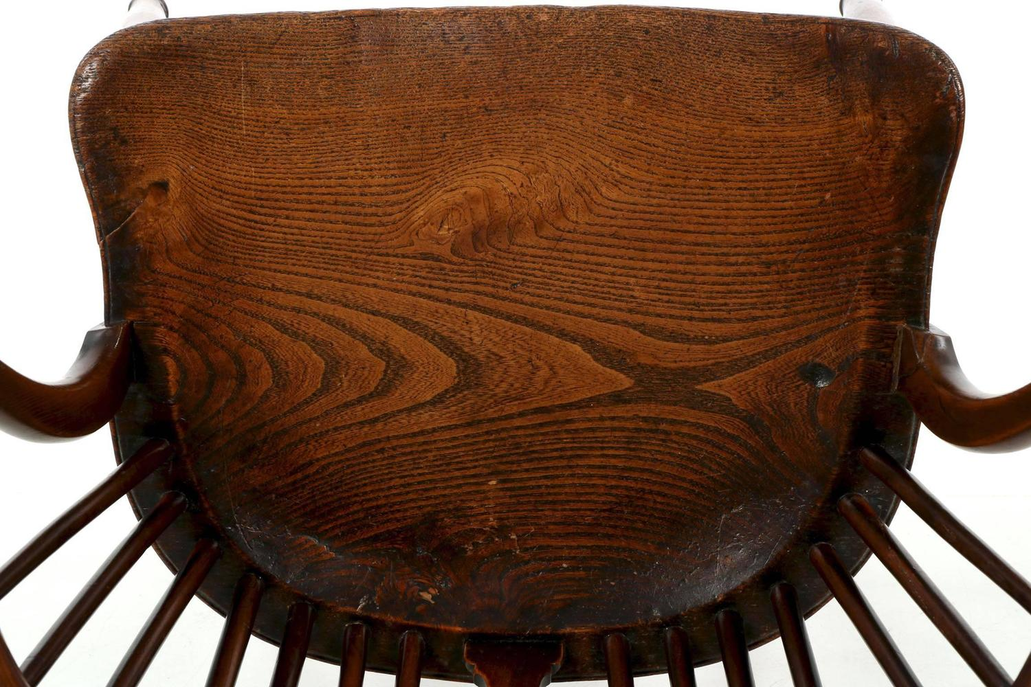 Fine English Yew And Elm Antique Windsor Armchair Circa 1810 1840 At . Full resolution‎  photograph, nominally Width 1500 Height 1000 pixels, photograph with #6E3716.