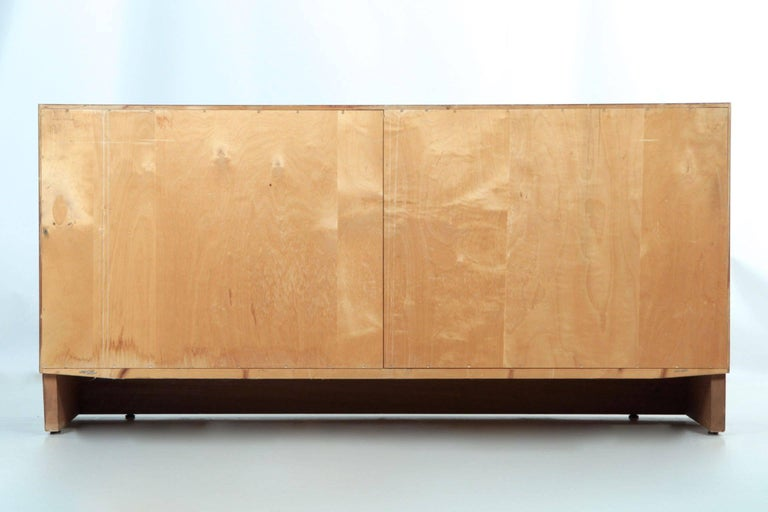 Danish Mid-Century Modern Rosewood Credenza Chest of Drawers by Poul Hundevad For Sale 3