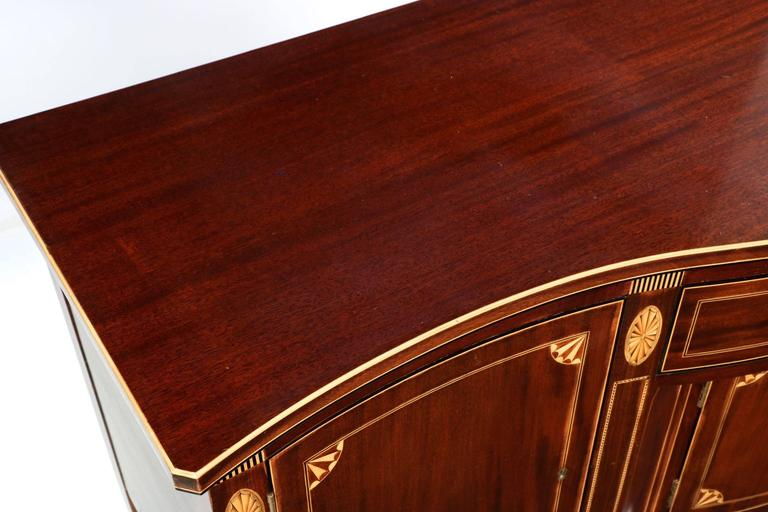 Potthast Brothers American Federal Style Inlaid Mahogany Sideboard 3