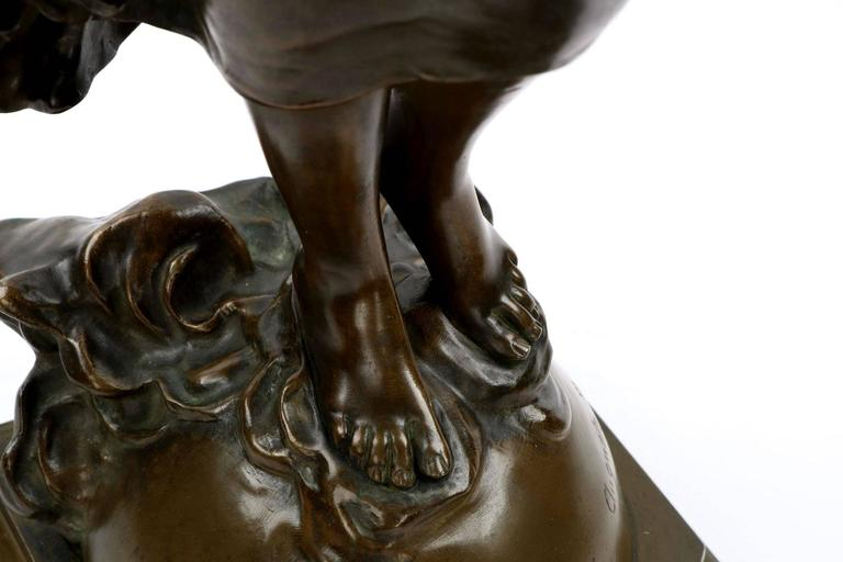 Large Bronze Sculpture Of L Aurore After Model By Auguste Moreau Circa 1900 At 1stdibs