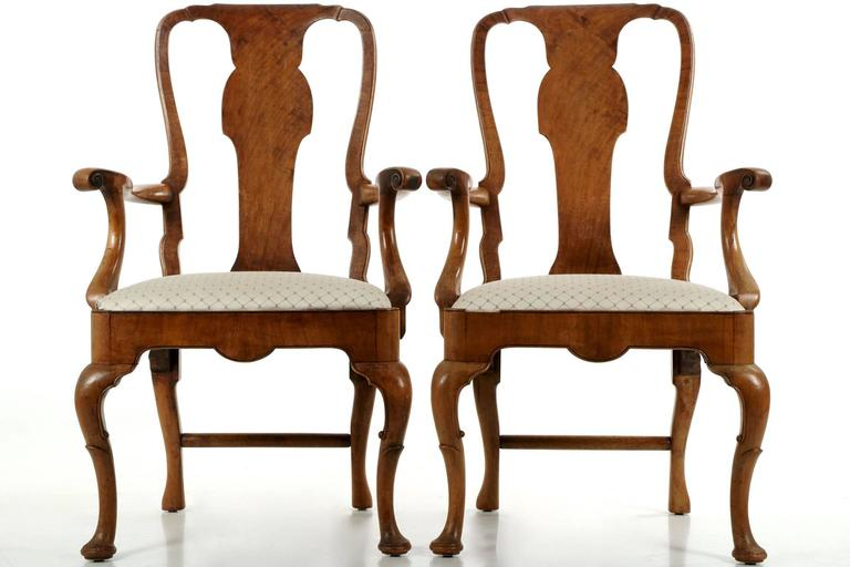 antique walnut dining chairs uk set eight vintage melbourne for sale australia