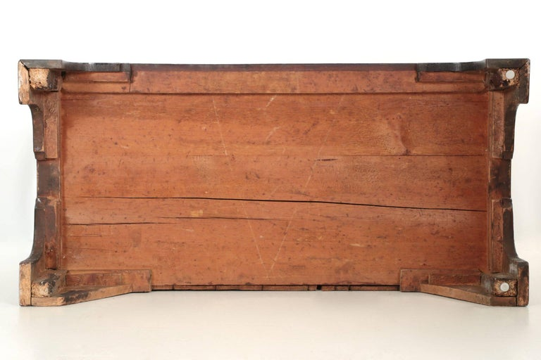 English George III Flame Mahogany Tall Chest on Chest of Drawers, circa 1780 For Sale 4