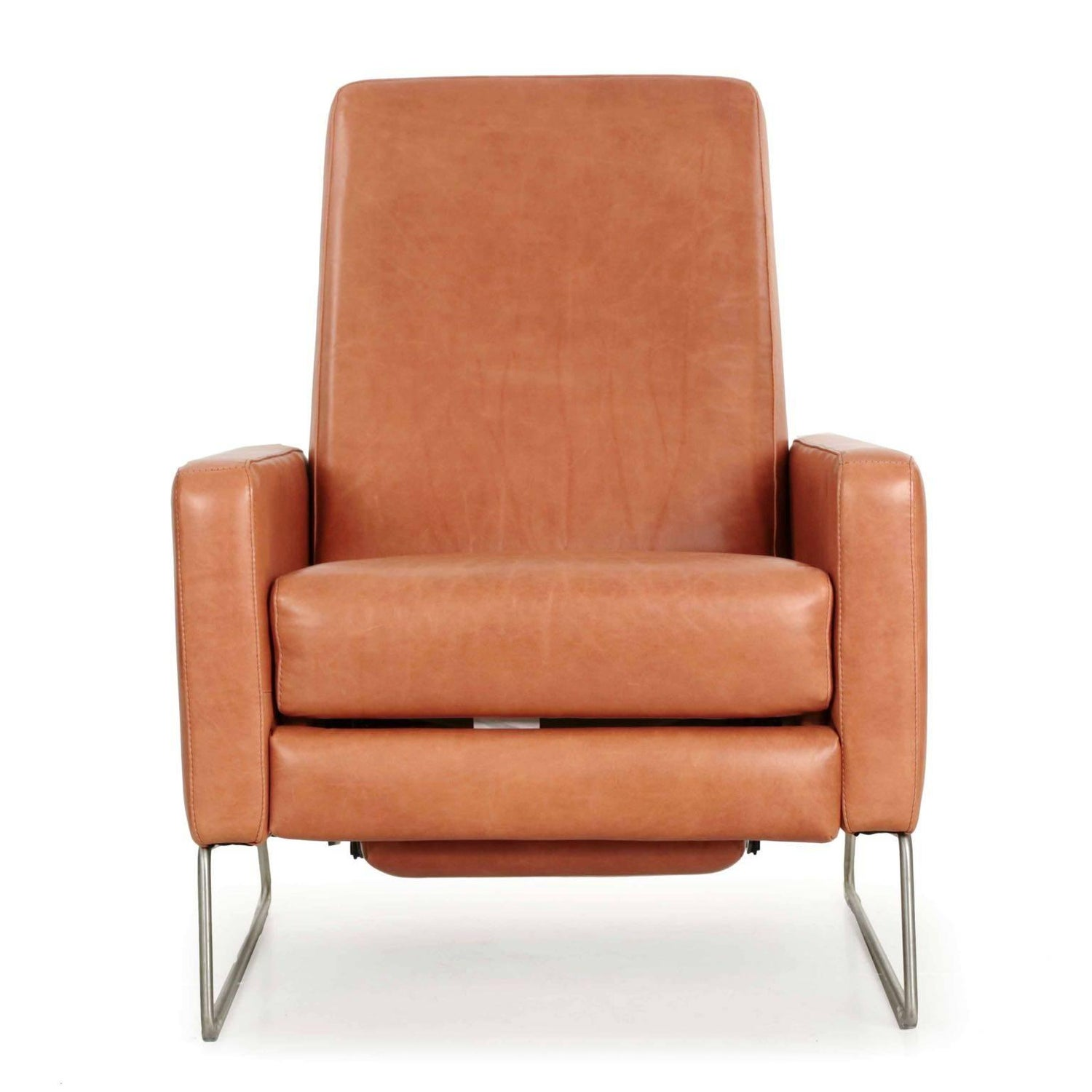 design within reach outdoor furniture. Ted Boerner For DWR Caramel-Brown Reclining Leather Lounge Chair On Steel Legs At 1stdibs Design Within Reach Outdoor Furniture A