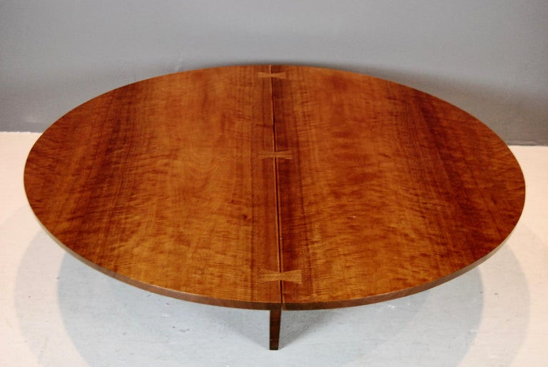 George Nakashima Coffee Table in Indian Laurel, 1969 For Sale 1