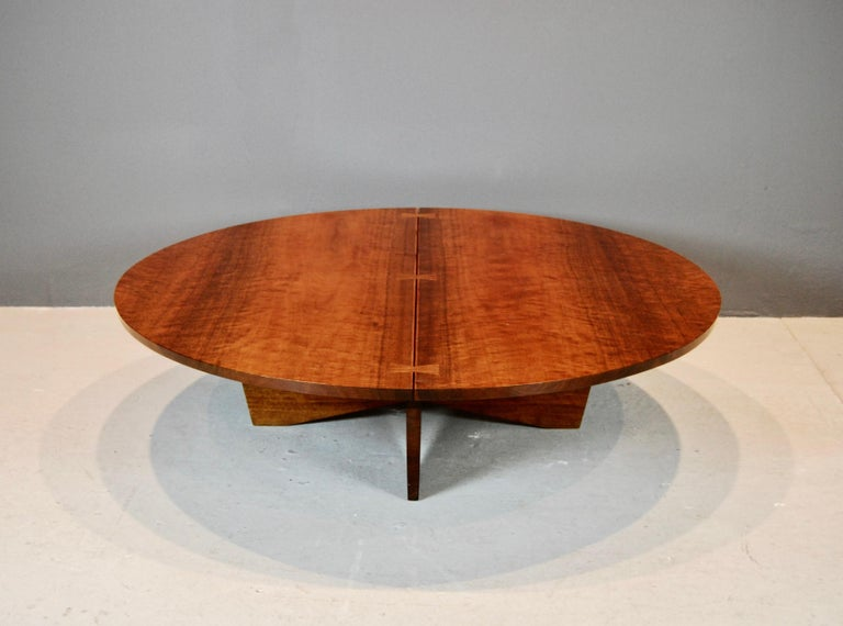 George Nakashima Coffee Table in Indian Laurel, 1969 For Sale 2