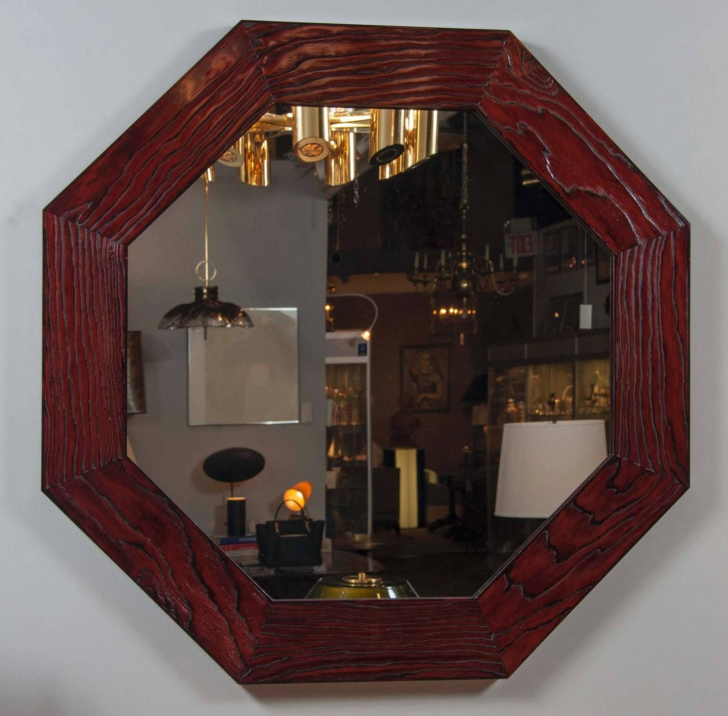large scale octagonal mirrors inspired by eileen gray at. Black Bedroom Furniture Sets. Home Design Ideas