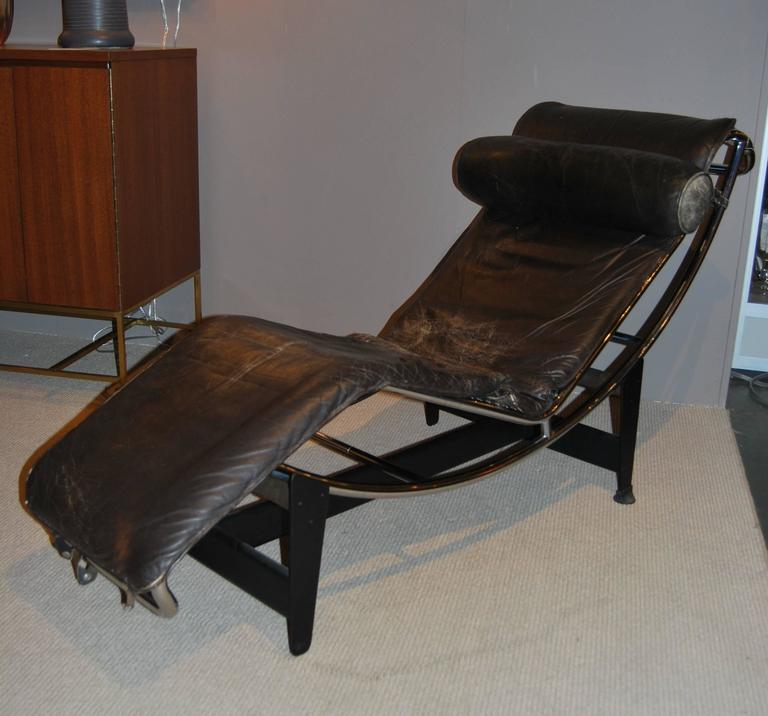 Chaise Lounge Chairs Leather. A Le Corbusier For Cassina Chaise Lounge Chair.  Leather And