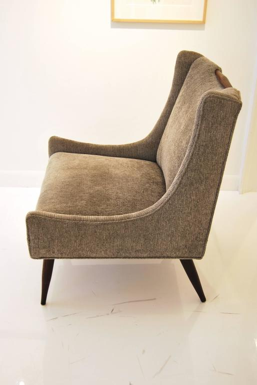 Pair of Harvey Probber Slipper Chairs In Good Condition For Sale In New York, NY