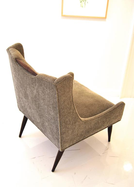 Mid-20th Century Pair of Harvey Probber Slipper Chairs For Sale