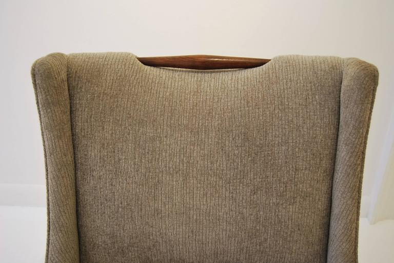 Upholstery Pair of Harvey Probber Slipper Chairs For Sale