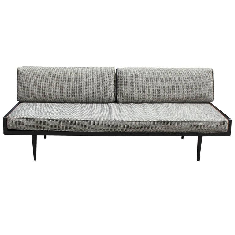 Sleek Armless Danish Style Sofa Or Daybed 3