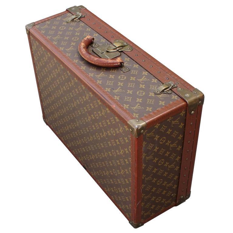 a4d7ae60765fc Eleganter Vintage Koffer Louis Vuitton Monogram im Angebot bei 1stdibs