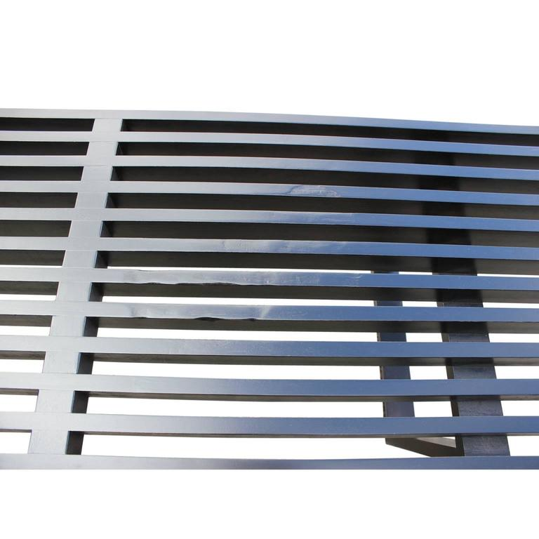 Mid-20th Century George Nelson for Herman Miller Modern Black Platform Bench