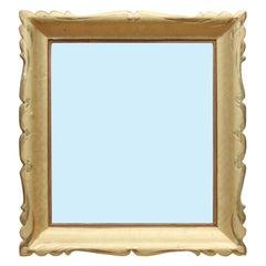 1950s Hollywood Regency Italian Gold Gilt Frame Mirror
