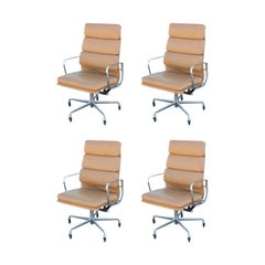 Eames for Herman Miller Aluminum Group Soft Pad Desk Chairs [Four Available]
