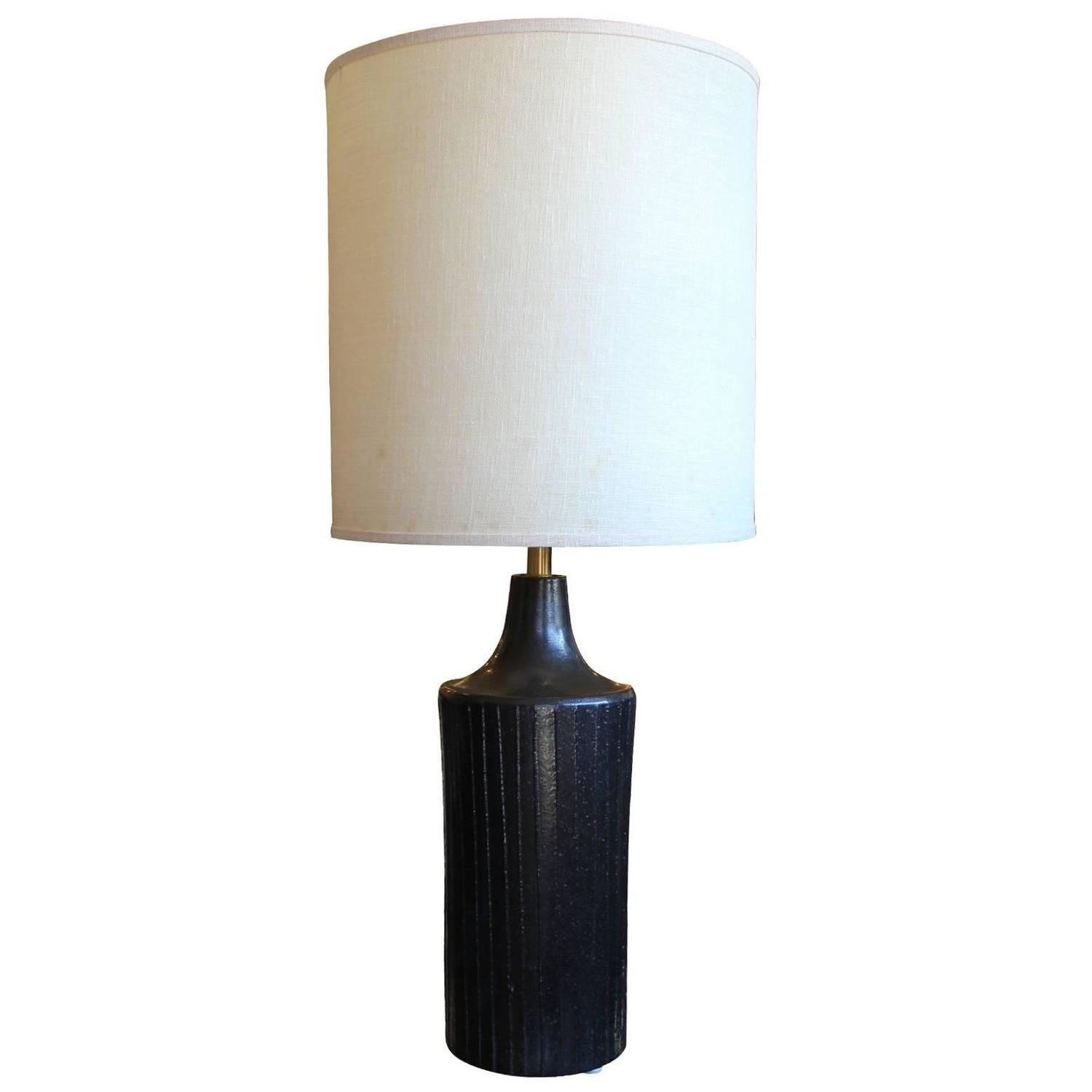 David cressey style ceramic table lamp at 1stdibs for Ceramic table lamps