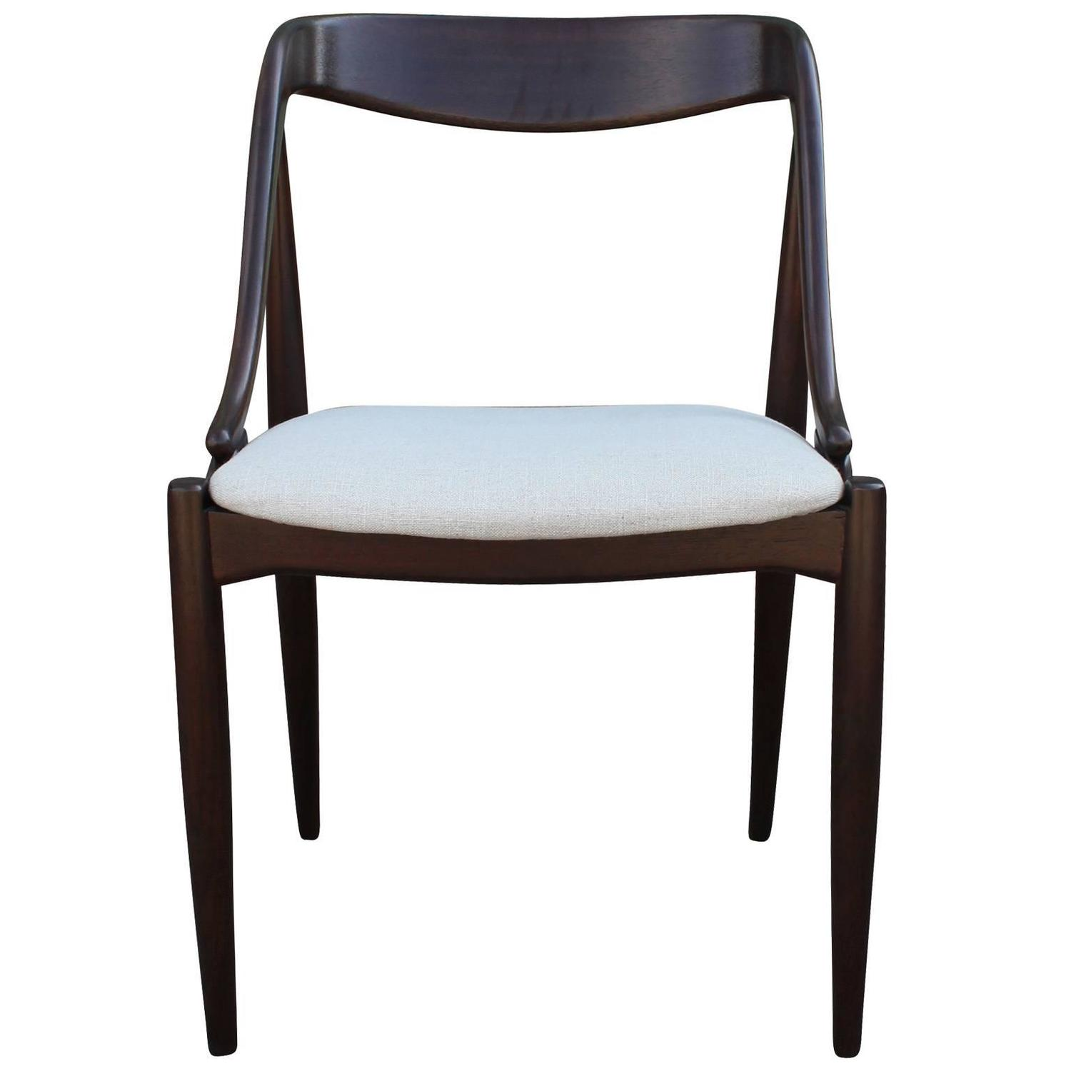Sculptural Set Of Four Dining Chairs By Johannes Anderson At 1stdibs