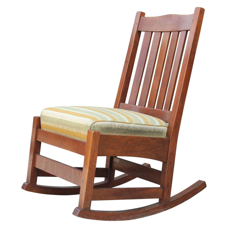 100 [ Stickley Childs Rocking Chair ]