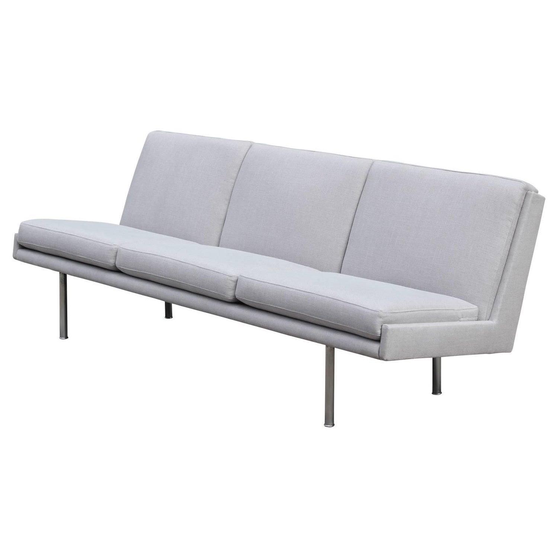 Hans Wegner Danish Armless Sofa For Sale at 1stdibs